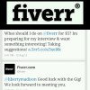 What would you do for $5? #ThatTechGirl and Fiverr