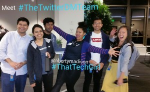 Twitter DM Team and LIberty Madison