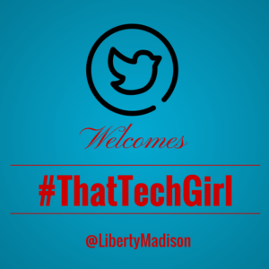 Twitter welcomes #ThatTechGirl